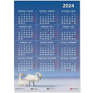 CC 6501 Vuosijuliste taulukkokalenteri 2021 520 x 720 mm