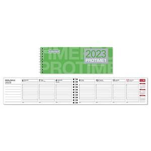 CC 3101 Protime 1 eko pöytäkalenteri 2021 255 x 95 mm