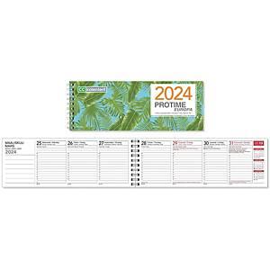 CC 3301 Protime Europa eko pöytäkalenteri 2021 255 x 95 mm