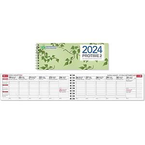 CC 3201 Protime 2 eko pöytäkalenteri 2021 255 x 95 mm