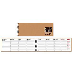 CC 3510 EkoPro pöytäkalenteri 2020 255 x 95 mm, vihreä