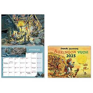CC 5621 Mauri Kunnas seinäkalenteri 2021 285 x 420 mm