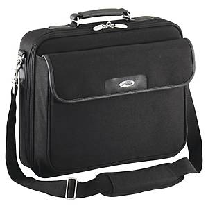 Computertaske Targus Notepac Clamshell, nylon, sort, 16