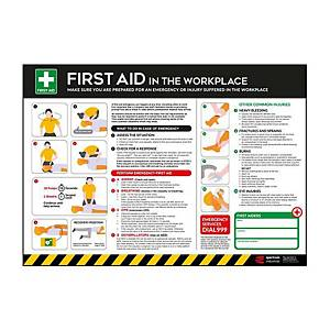 First Aid Poster 420 X 595mm