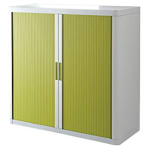 Paperflow cupboard 110x104,5x41,5cm green/white