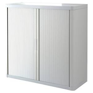 Paperflow cupboard 110x104,5x41,5cm white/white