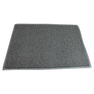 Tappeto per esterni Doortex Twistermat in vinile 60 x 90 cm grigio