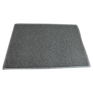 Doortex Twister deurmat voor buiten, 90 x 150 cm, grijs