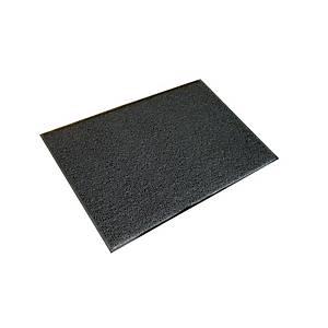 Tapete exterior Floortex Twister - 900 x 1500 mm - cinzento