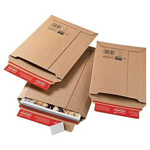 Colompac CP010.06 rigid corrugated cardboard envelope 250 x 360 x 50 mm