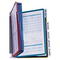 Durable 5567 Vario Pro displaysysteem wandkit, 10 panelen, PP, 5 kleuren