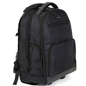 Targus Sport trolley rugzak, voor laptop tot 16 inch, zwart