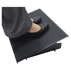Pro Series Steel acél lábtámasz, fekete