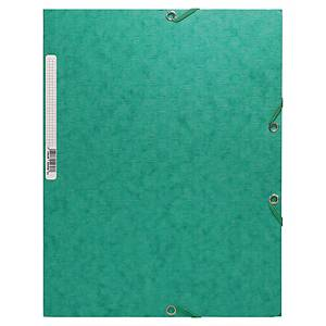 EXACOMPTA A4 3-FLAP FOLDER GREEN