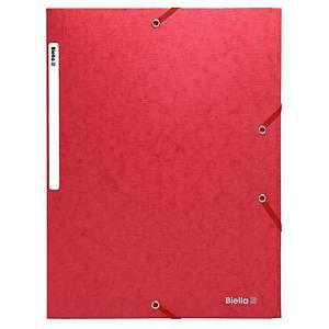 Chemise à élastique Exacompta A4, boite, 590g/m2, rouge