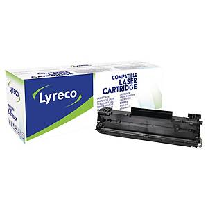 LYRECO HP COMPATIBLE CE278A PRINT CARTRIDGE BLACK
