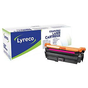 Lasertoner Lyreco HP CE263A kompatibel, 11.000 sider, magenta