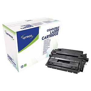 Tóner láser Lyreco compatible para HP 55XXL - CE255XXL - negro