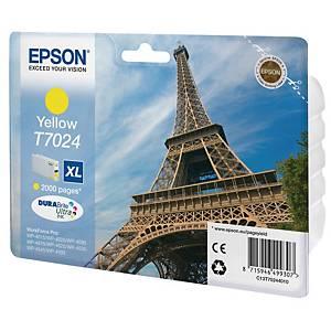 Epson T702440 cartouche jet d encre jaune HC [2.000 pages]