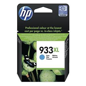 HP CN054AA 933XLInkjet Cartridge - Cyan
