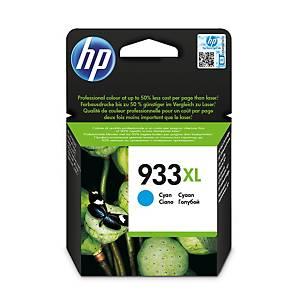 Cartucho de tinta HP 933XL - CN054AE - cian