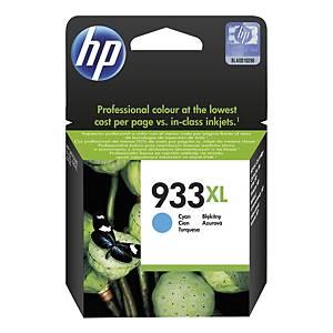 Bläckpatron HP 933XL CN054AE, 825 sidor, cyan