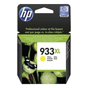 Blekkpatron HP 933XL CN056A, 825 sider, gul