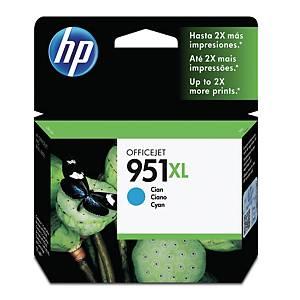 HP 951XL CN046AE OFFICEJET INK CARTRIDGE CYAN