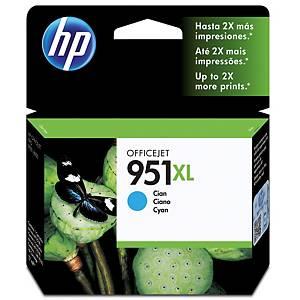 HP No. 951XL CN046AE mustesuihkupatruuna syaani