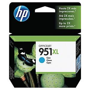 Cartouche d encre HP 951XL - CN046AE - cyan