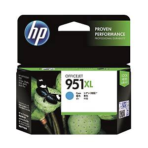 HP CN046AA 951XL Inkjet Cartridge - Cyan