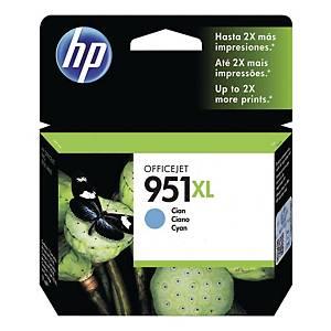 HP CN046AA 951XL Inkjet Cartridge - Cyan