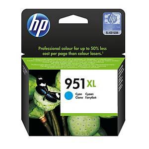 Cartucho de tinta HP 951XL - CN046AE - cian