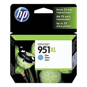 Bläckpatron HP 951XL CN046A, 1 500 sidor, cyan