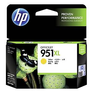 HP No. 951XL CN048AE mustesuihkupatruuna keltainen