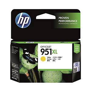 HP CN048AA 951XL Inkjet Cartridge - Yellow