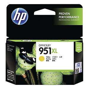 Blekkpatron HP 951XL CN048A 1.500 sider gul