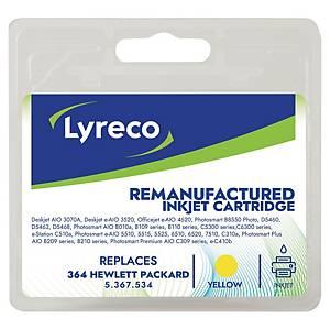 Blækpatron Lyreco kompatibel HP364 gul