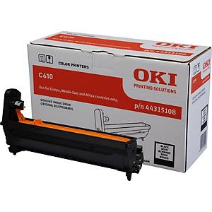 Tambor laser Oki 44315108 - preto