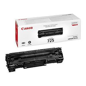 Canon 725Bk Toner Cartridge Black