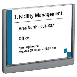 Door sign Durable Click Sign 4866-37, 210 x 148,5 mm, graphite