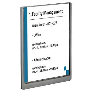 Plaque de porte Durable Click Sign - A4