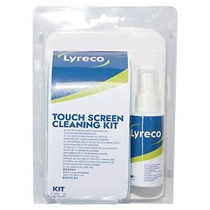 Reinigungsset Lyreco Touchscreen, Universell für Touchscreens einsetzbar, 10 tlg