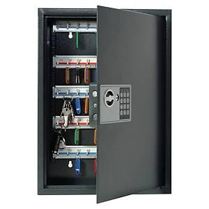 Sicherheitsschlüsselkasten Pavo 8033911, verschließbar, 50 Schlüssel, anthrazit