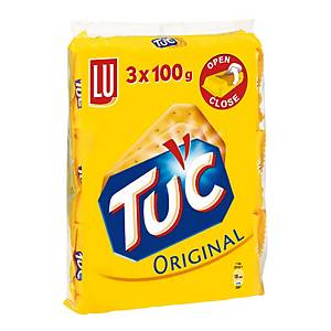 LU Tuc suolakeksi 100g, 1 kpl=3 pakettia