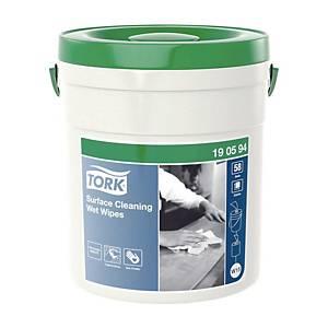 Tork Premium kostea pintojenpuhdistusliina W14