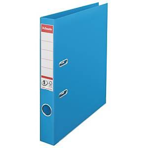 Pákový pořadač Esselte No. 1 Power, šířka hřbetu 5 cm, světle modrý