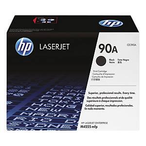 HP 90A (CE390A) toner cartridge, zwart