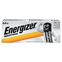 Pile budget Energizer LR6/AA Industrial, les 10 piles