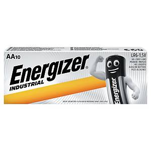 Energizer LR6/AA Industrial alkaline batteries - pack of 10